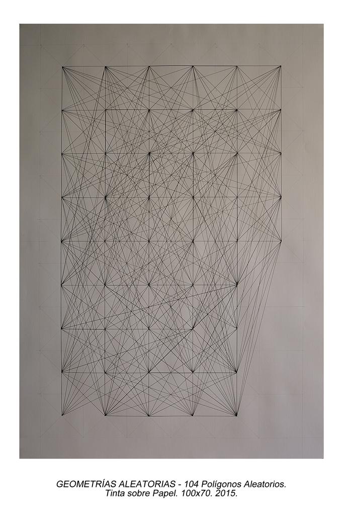 01. Geometrias Aleatorias - 104 Pentágonos Aleatorios
