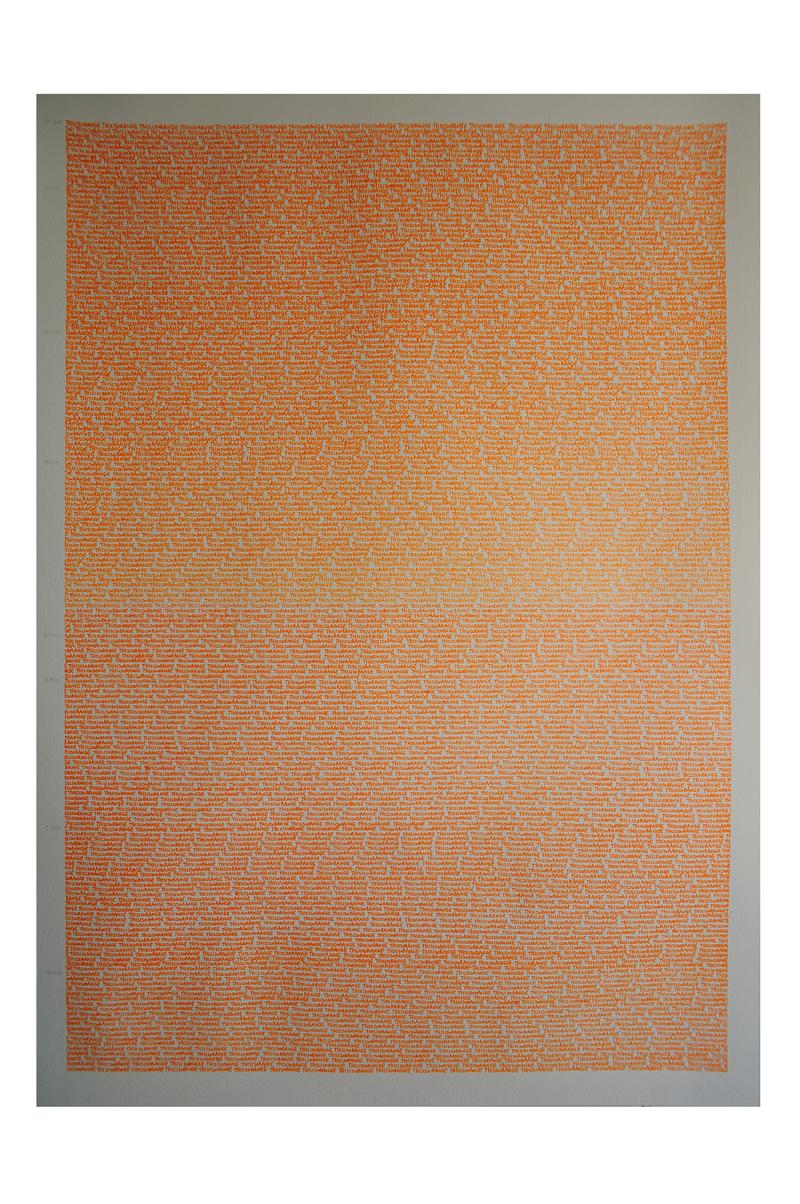 02. 3461 Oranges. 100x70. 2016