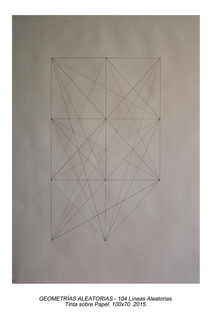 02. Geometrias Aleatorias - 104 líneas Aleatorias